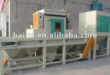 transmission sandblasting machine for wood,steel,stone