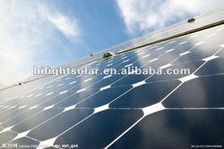Photovoltaic monocrystalline silicon flexible solar panle 250W with TUV