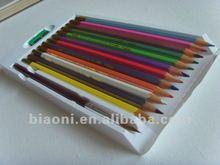 artist wooden colored watercolor pencil set