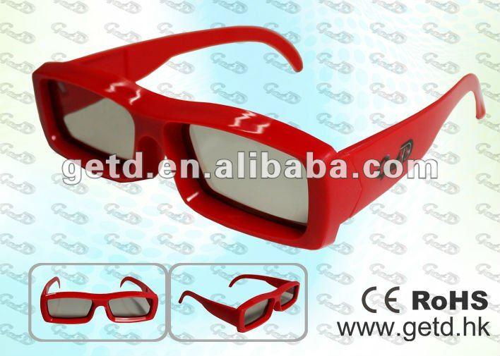 Hot selling reusable 3d eyewear for master image