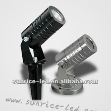 Newest hot Stainless steel IP65 Mini 1*3W outdoor landscape lamp