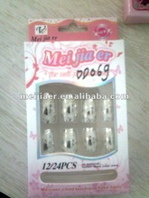 New carved line ABS nail tips