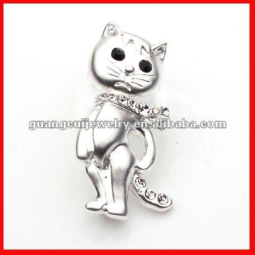 fashion cat cloth brooch
