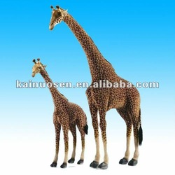 Life Size resin animal Giraffe figurine