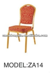 2012 hot sale foshan shunde metal stack banquet hotel chairs ZA14