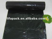 Heavy duty plastic garbage/trash bag with printing