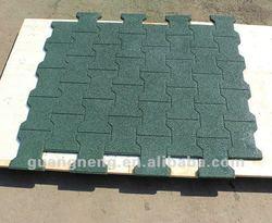 safety rubber flooring tile