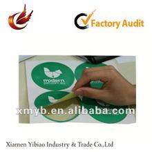 2012 China promotional adhesive labels printing