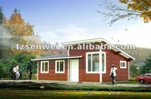 new style wooden house