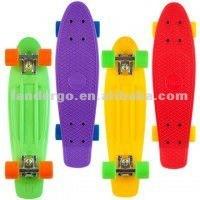 4 Wheels Plastic Penny Skateboard 2012 Hot Sale