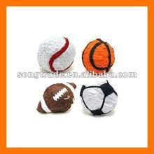 Mini sports ball pinata handmade paper decoration for party