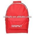 Célèbre marque corée du sac à dos rouge logos