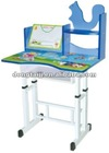 Cheap Kids Adjustable Drawing Study Desk with Tablet