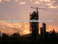Changshan Cement Co.,Ltd 5000t/d cement clinker production line