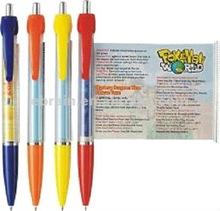 Pull Reel Ball Pen