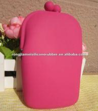 2012 fashion mini silicon girl's phone bag shenzhen original wholesale wallet