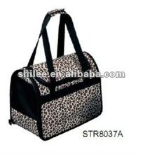 Dog Leopard Travel Cage / Pet Bag