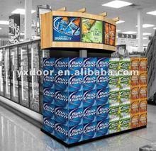 Store end displayy, wood display , end rack