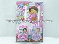 Dora kid walkie talkie interphone toy