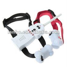 WATERPROOF Remote Dog Train Collar Shock + Vibration LCD 100LV LEVEL 300m 1v2