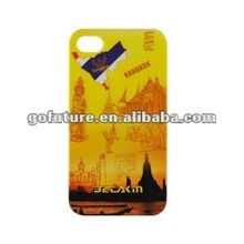 2012 for iphone, IML craftsmanship, high quality cover case for mobilephone