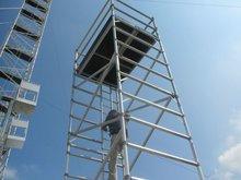 aluminum construction planks
