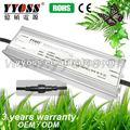 Emc de alta potência 200 W 12 V tensão constante impermeável LED Light Driver / LED fonte de alimentação