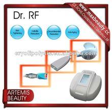 2012 portable rf vacuum suction skin tightening machine