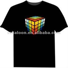tshirt led customized