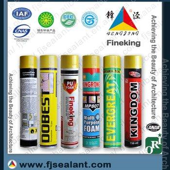 construction polyurethane foam/sealant/adesive
