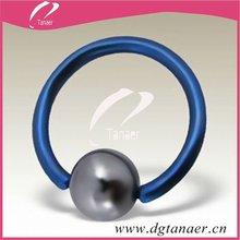 New Surgical anillo de cierre de bola con estrella