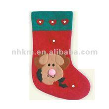 2012 nice christmas decoration for promotion /santa sock