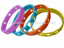2012 Newest Hollow Tattoo silicone bracelet wristband