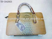 2012 newest crocodile woman handbag