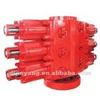Three Ram Hydraulic BOP blowout preventer