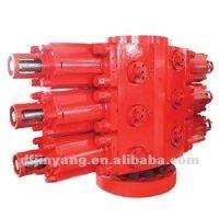 Three Ram Hydraulic BOP blowout preventer
