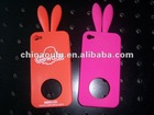 Silicone Rabbit Phone Cover for Apple Iphone4 Iphone4s