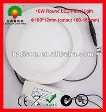 10W 180mm diameter 6 inch led round panel lighting