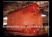 D type diesel/heavy fuel oil marine ship boiler