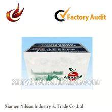 2012 packaging art paper printing apple carton box