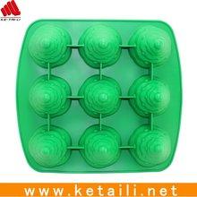 2012 newly designed silicone cake molds