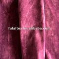 100% sintéticas de poliéster da camurça da urdidura tecido de malha camurça