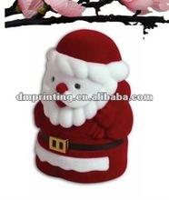 wholesales Santa Claus velvet ring box