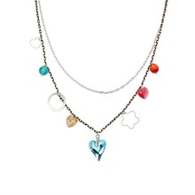 Austrian crystal jewelry necklace-Colorful summer(Color)