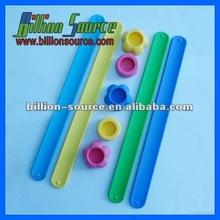 silicone gel stainless steel sport watch strap