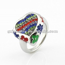 2012 new design jewelry shamballa ring