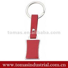 2012 promotional leather keyring