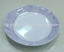 "9138 3.8"" SAUCER /melamine saucer/custom printed tea&coffee cups and saucer/ 2-section saucer"