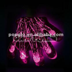 glowing veins glove for halloween 2012 NEW