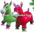 Pvc animal/ salto cavalo/ brinquedo infláve